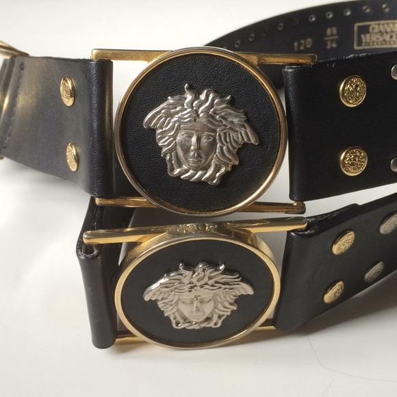 f48a20c0d7 Versace Accessories   Gianni Signature Vintage 90s Belt   Poshmark